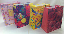 JOB LOT OF 20 NEW LARGE GIFT BAGS MIXED DESIGNS Some Birthday Designs. Shop