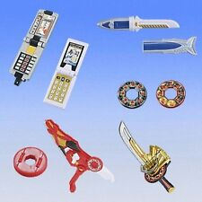 Bandai Power Ranger Shinkenger SAKANAMARU  Sushi Sword Morpher Set of 7 Gashapon