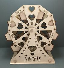 Y28 HUGE FERRIS WHEEL MDF Gift Sweet Table Display Weddings Laser Cut Decoration