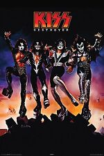 KISS - DESTROYER POSTER - 24x36 ROCK BAND SIMMONS MUSIC 9376