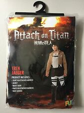 ATTACK ON TITAN ERIN JAEGER COSTUME Adult Small 5 Piece (Japanese Anime Cosplay)