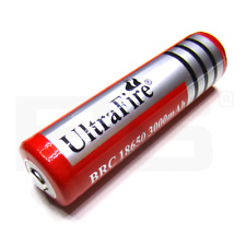 Lithium ion Battery 18650 UltraFire 3000mAh red batterie li ion 3.7V SureFire