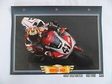 CARTE FICHE MOTO NORIYUKI HAGA   1993