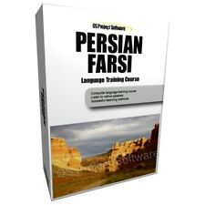 LEARN TO SPEAK PERSIAN FARSI IRANIAN LANGUAGE TRAINING COURSE PC DVD NEW