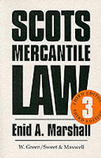 Mercantile Law by Enid A. Marshall (Book, 1997)