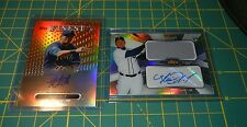 2013 Topps Finest #AJR-AG2 Avisail Garcia Auto Autograph Relic Jersey Tigers RC