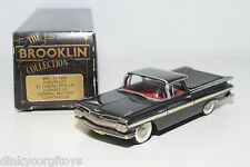 . BROOKLIN BRK 46 CHEVROLET EL CAMINO PICK-UP 1959 BLACK MINT BOXED