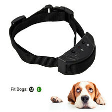 Anti Bark No Barking Shock Control Training Collar for Small Pet Dog US STOCK