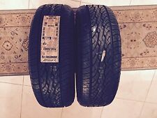 NEW PAIR OF TWO (2) 235/60/17 DUNLOP SIGNATURE CS TIRES WITH FREE SHIPPING!