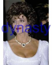 DYNASTY #5814,JOAN COLLINS,candid photo,THE COLBYS