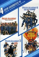 Police Academy 1-4 Collection: 4 Film Favorites [2 Disc (2009, REGION 1 DVD New)