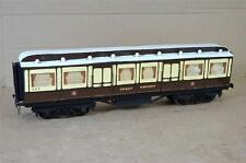 G G1 GAUGE 1 KIT BUILT GW GWR CLERESTORY ROYAL SALOON COACH 454 circa 1897 ei