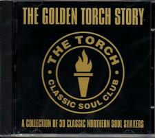 GOLDEN TORCH STORY Various Artists NEW SEALED NORTHERN SOUL CD (GOLDMINE) R&B