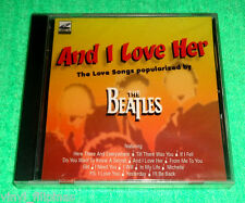 PHILIPPINES:SONGS AS POPULARIZED BY THE BEATLES,AND I LOVE HER,LOVE SONGS,VCD