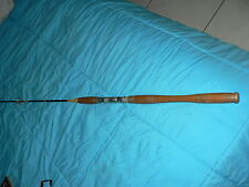 Vintage Collectible Fishing Rod Angler Marked 7125 Montague Wood Hand Wraped