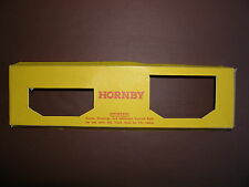 HORNBY SERIES O GUAGE , HORNBY TRAINS O GUAGE  BOX INSERTS.