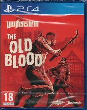 WOLFENSTEIN: LA VIEJO BLOOD GAME PS4 (Shooter En Primera Persona) ~ NEW / SEALED
