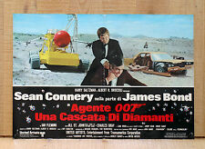 007 UNA CASCATA DI DIAMANTI fotobusta poster Bond Connery Diamonds Are Forever 3