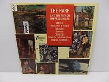 """1969 Helga Storck """"The Harp and French Impressionists"""" Turnabout VoX Vinyl LP"""