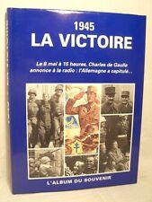 █ 1945 LA VICTOIRE guerre 39/45 Capitulation Allemagne █