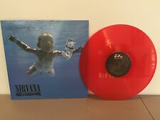 NIRVANA - NEVERMIND -180 GRAM RED COLORED VINYL LP - BRAND NEW EU IMPORT