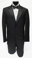 60 X-Long New Mens Designer Calvin Klein 2 Button Wool Tuxedo Jacket Big & Tall