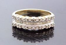 10k Yellow Gold & Diamond Unique Ring 0.50 TCW I SI 3.7g