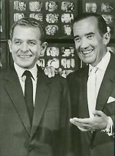 1959 Original CBS Photo Person to Person show host Ed Murrow Charles Collingwood