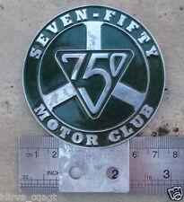 VINTAGE SEVEN FIFTY HONDA AUSTIN 750 MOTOR CLUB CAR BADGE SPORTING TRIALs