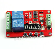 DC 5V Multifunction 2 Channel Relais PLC Self-lock Cycle Timer Time Delay Switch