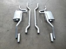 FORD XY 2 1/4 INCH  DUAL SYSTEM COMPLETE WITH TIPS NEW FROM EXTRACTORS PH4050/5