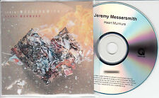 JEREMY MESSERSMITH Heart Murmurs UK no'd promo test CD + 2 bonus CDs