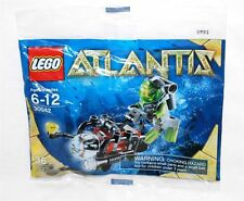 30042 ATLANTIS SCUBA DIVER promo city lego minifigure NEW poly bag legos set