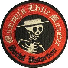 "SOCIAL DISTORTION AUFBÜGLER / EMBROIDERY PATCH # 5 ""MOMMY'S LITTLE MONSTER"""