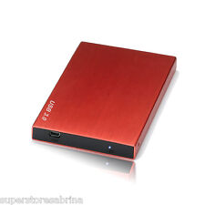 160GB External USB 3.0 Hard Disk Drive Portable Pocket fr PS3 MAC Windows Red3