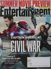 CAPTAIN AMERICA: CIVIL WAR April 2016 ENTERTAINMENT WEEKLY JARED LETO  ZAC EFRON