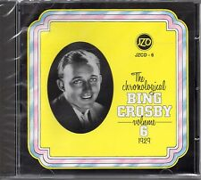 The Chronological Bing Crosby Volume 6 1929 CD