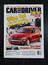 Car & Driver July 1999  Chrysler PT Cruiser - Hennessey Venom 650R - Ferrari 360