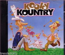 KOOKY KOUNTRY K-Tel CD Classic Great Comedy Songs LARRY VENRN FENDERMEN Rare OOP