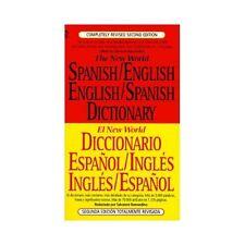 El Nuevo World Diccionario Español / Inglés Inglés/Español (1996, Paperback,...