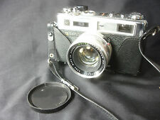 Old Vtg Antique Collectible Yashica Electro 35 Camera With Case Made In Japan