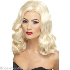 Womens Quality 20's Luscious Long Wig Blonde Hen Flapper Curls Fun Fancy Dress