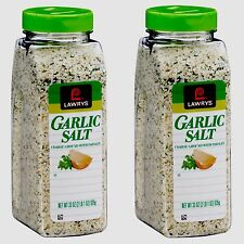 Pack of 2 Lawry's Garlic Salt 33 oz Each