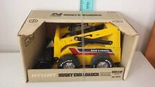 Vintage Nylint No 2070 Husky End Loader Construction Pressed Steel Toy In Box