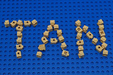 20 X Lego 4070 Tan Brick 1x1 with Headlight NEW Original