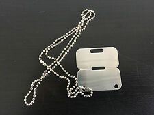 DOG TAG CANADIAN MILITARY ARMY CHAIN NECKLACE