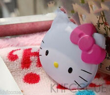 Hello Kitty Pink Bow Diecut Portable Compact Comestic Pocket Mirror K65