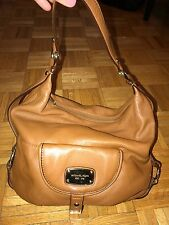 Michael Kors Tan Pebbled Leather Handbag Shoulder bag