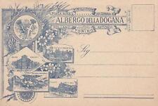 Z655) TORINO, ALBERGO DELLA DOGANA VICINO STAZIONE DI PORTA SUSA. 4 vedutine..