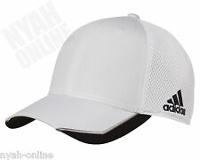 NEW adidas FLEXFIT CAP FITTED MESH BASEBALL GOLF TRUCKER PEAK HAT S-M-L-XL